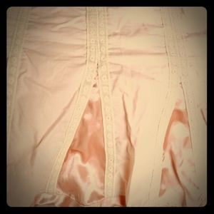 Lane Bryant-Pale Pink & Lace  Skirt/sz.28